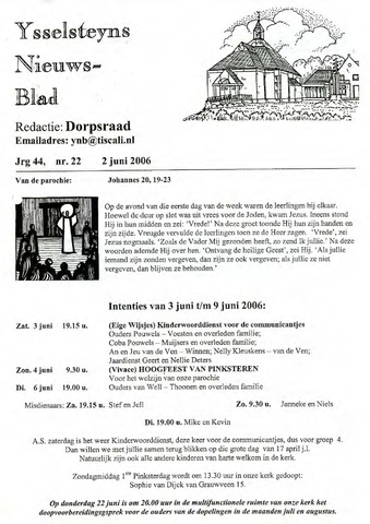 Ysselsteyns Nieuwsblad 2006-06-02