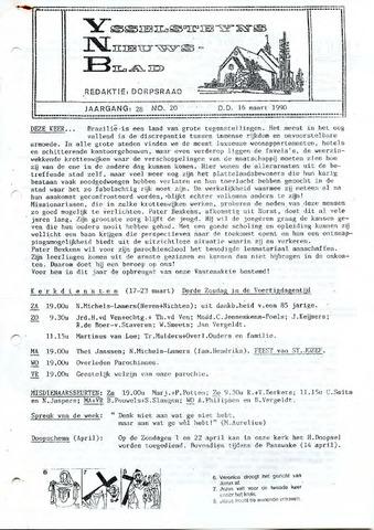 Ysselsteyns Nieuwsblad 1990-03-16