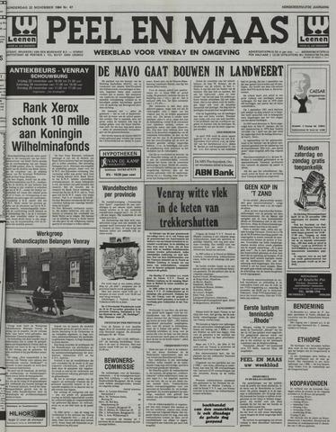Peel en Maas 1984-11-22