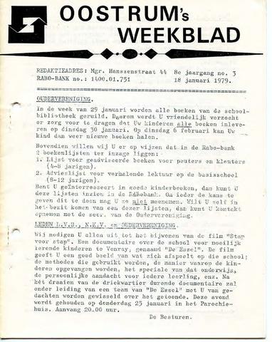 Oostrum's Weekblad 1979-01-18