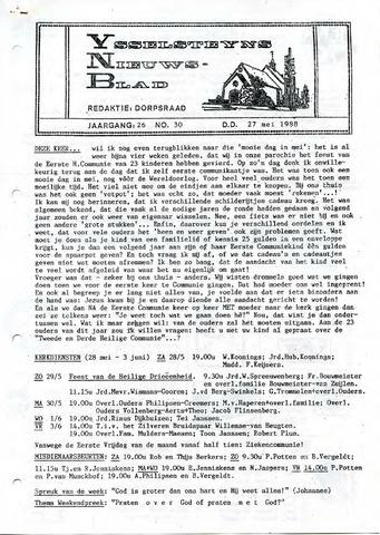 Ysselsteyns Nieuwsblad 1988-05-27