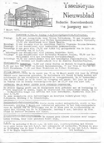Ysselsteyns Nieuwsblad 1975-03-07