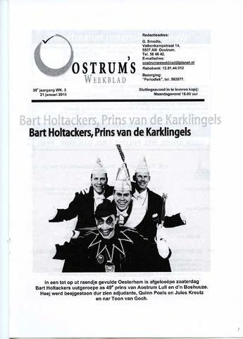 Oostrum's Weekblad 2010-01-21