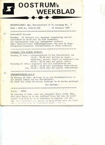 Oostrum's Weekblad 1979-02-15