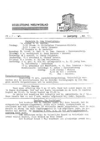 Ysselsteyns Nieuwsblad 1968-02-29