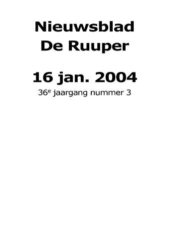 Dorpsblad Leunen-Veulen-Heide 2004-01-16