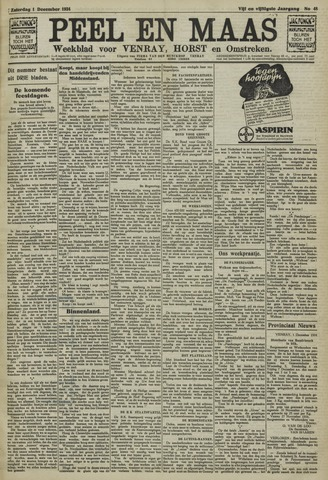 Peel en Maas 1934-12-01