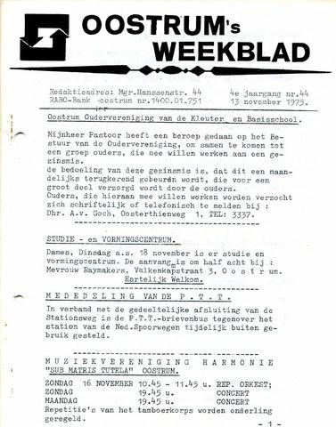 Oostrum's Weekblad 1975-11-13