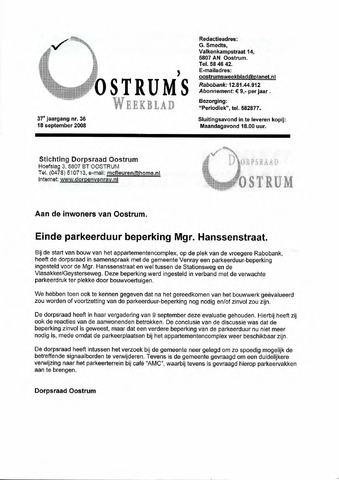 Oostrum's Weekblad 2008-09-18