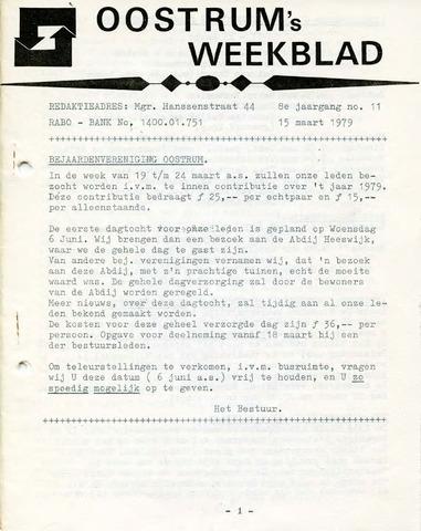 Oostrum's Weekblad 1979-03-15