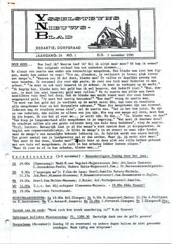 Ysselsteyns Nieuwsblad 1990-11-02