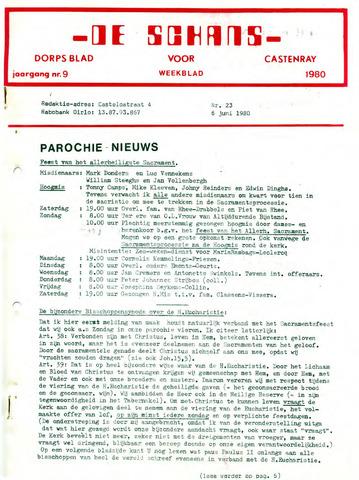 Castenrays dorpsblad De Schans 1980-06-06