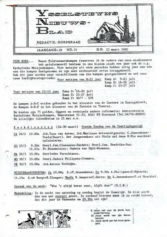 Ysselsteyns Nieuwsblad 1990-03-23