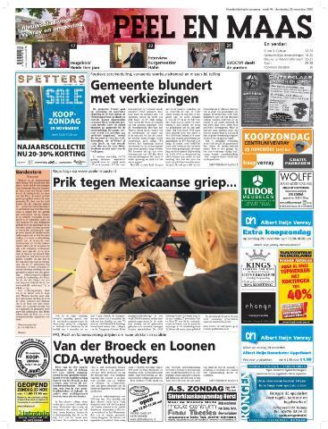 Peel en Maas 2009-11-26