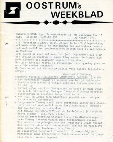 Oostrum's Weekblad 1979-03-29