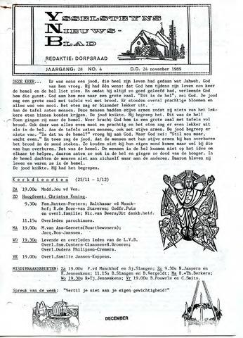 Ysselsteyns Nieuwsblad 1989-11-24