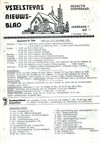 Ysselsteyns Nieuwsblad 1983-12-09