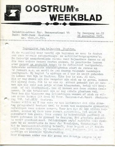 Oostrum's Weekblad 1975-08-28