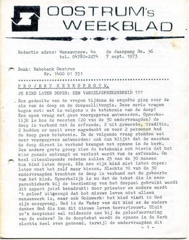 Oostrum's Weekblad 1973-09-07