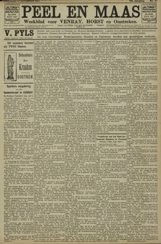 Peel en Maas 1927-09-10