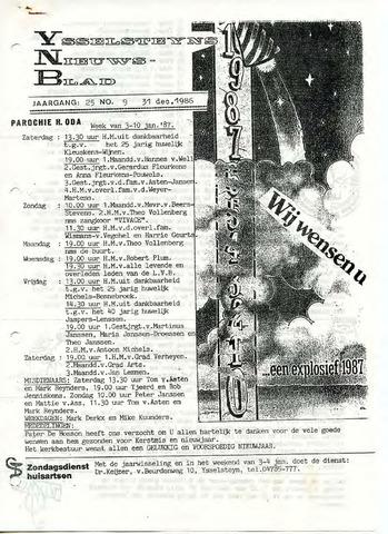 Ysselsteyns Nieuwsblad 1986-12-31
