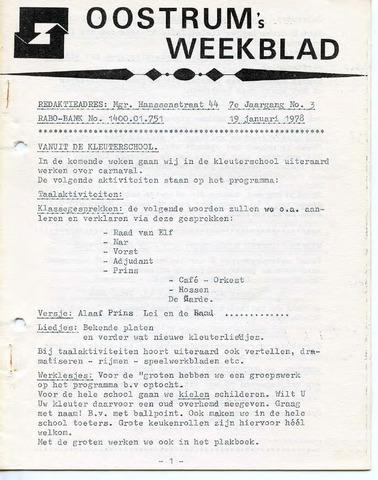 Oostrum's Weekblad 1978-01-19