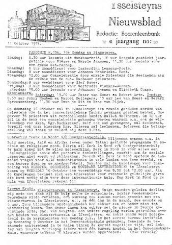 Ysselsteyns Nieuwsblad 1974-10-11