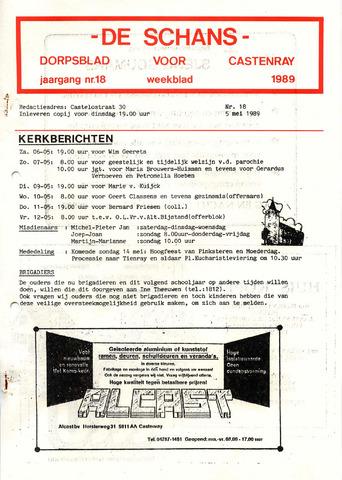 Castenrays dorpsblad De Schans 1989-05-05