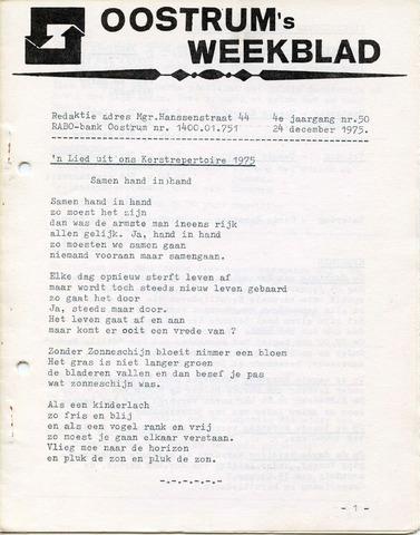 Oostrum's Weekblad 1975-12-24