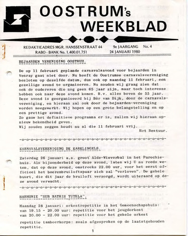 Oostrum's Weekblad 1980-01-24