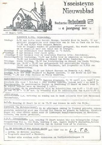 Ysselsteyns Nieuwsblad 1978-03-17