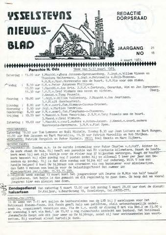 Ysselsteyns Nieuwsblad 1983-03-04
