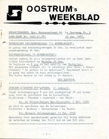 Oostrum's Weekblad 1977-01-20