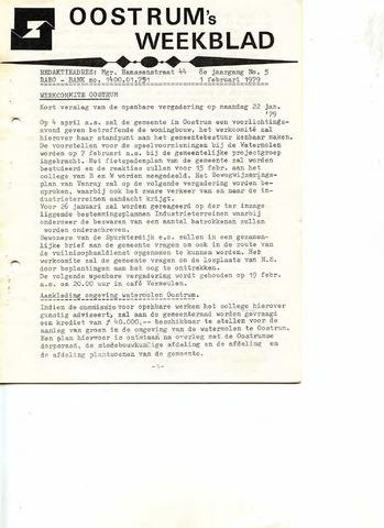 Oostrum's Weekblad 1979-02-01