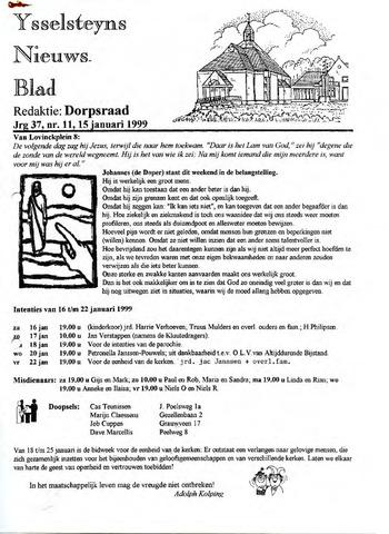 Ysselsteyns Nieuwsblad 1999-01-15