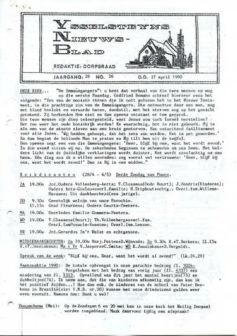 Ysselsteyns Nieuwsblad 1990-04-27