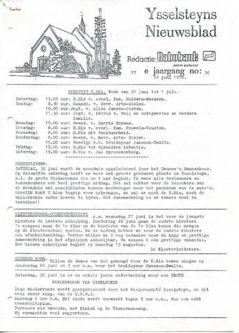 Ysselsteyns Nieuwsblad 1979-06-22