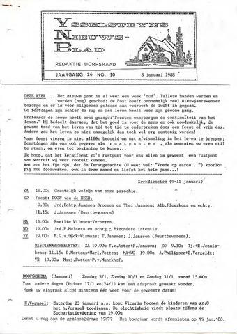 Ysselsteyns Nieuwsblad 1988