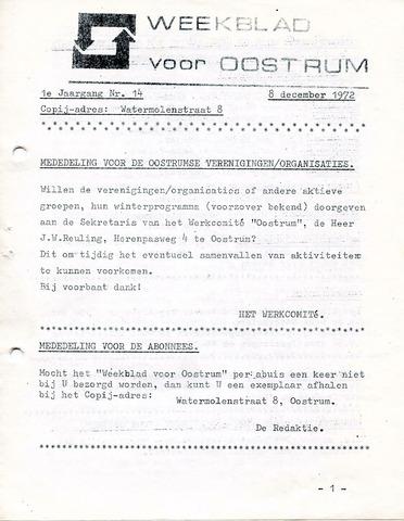 Oostrum's Weekblad 1972-12-08