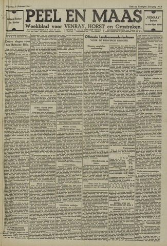 Peel en Maas 1942-02-21