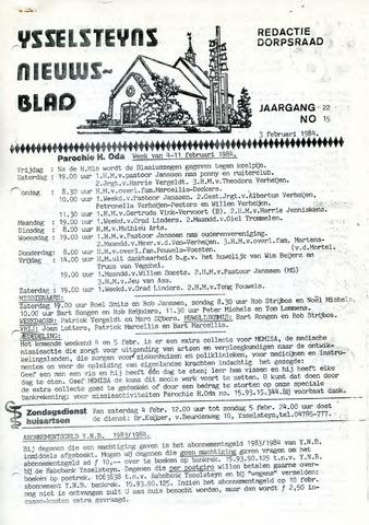Ysselsteyns Nieuwsblad 1984-02-03