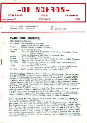 Castenrays dorpsblad De Schans 1980-09-12