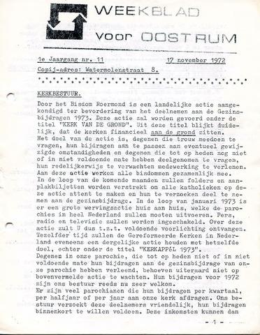 Oostrum's Weekblad 1972-11-17