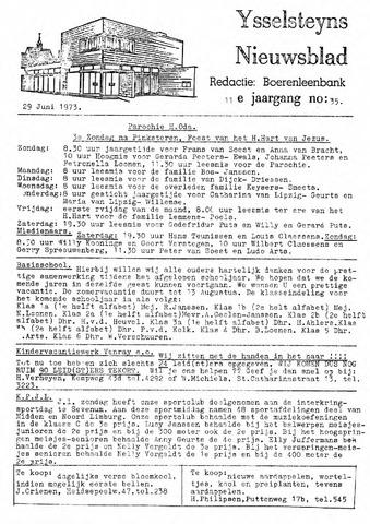 Ysselsteyns Nieuwsblad 1973-06-29