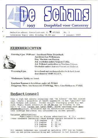 Castenrays dorpsblad De Schans 1997-01-02