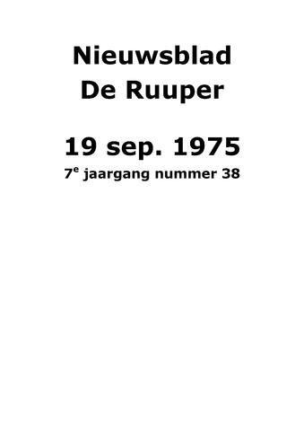 Dorpsblad Leunen-Veulen-Heide 1975-09-19