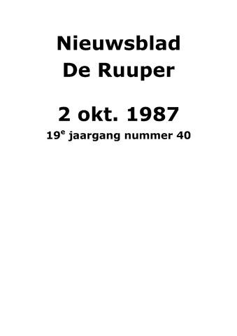 Dorpsblad Leunen-Veulen-Heide 1987-10-02