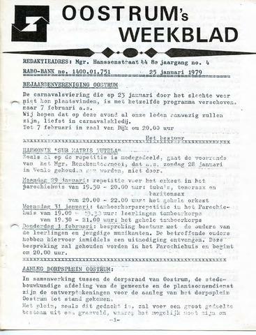 Oostrum's Weekblad 1979-01-25