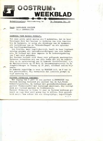 Oostrum's Weekblad 1974-05-10