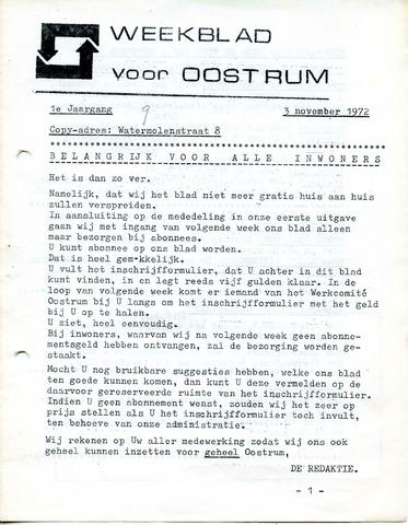 Oostrum's Weekblad 1972-11-03